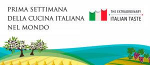 Primera semana de la cocina italiana en el mundo