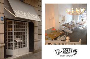 Sorteo de una cena para dos en el restaurante Vic Brasería