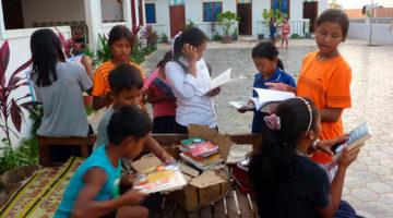 Books Up, una organización de jóvenes ayudando jóvenes