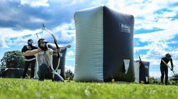 El Archery Tag, nueva actividad de fin de semana