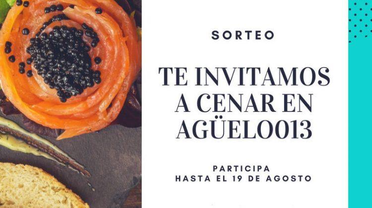 Te invitamos a cenar en el restaurante Agüelo013