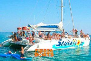 Fiestas en barco en Barcelona