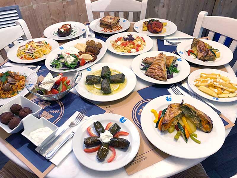 restaurante griego Barcelona